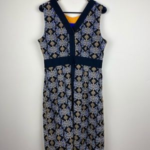 HD IN Paris midi style  embroidered dress size 12